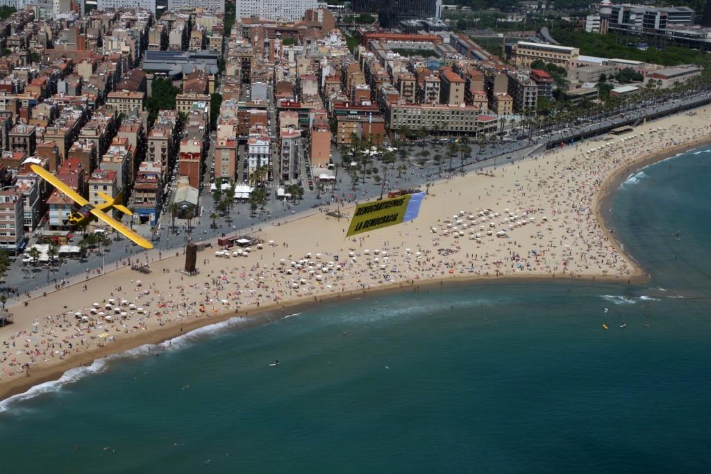 A vuelo de pájaro barcelona