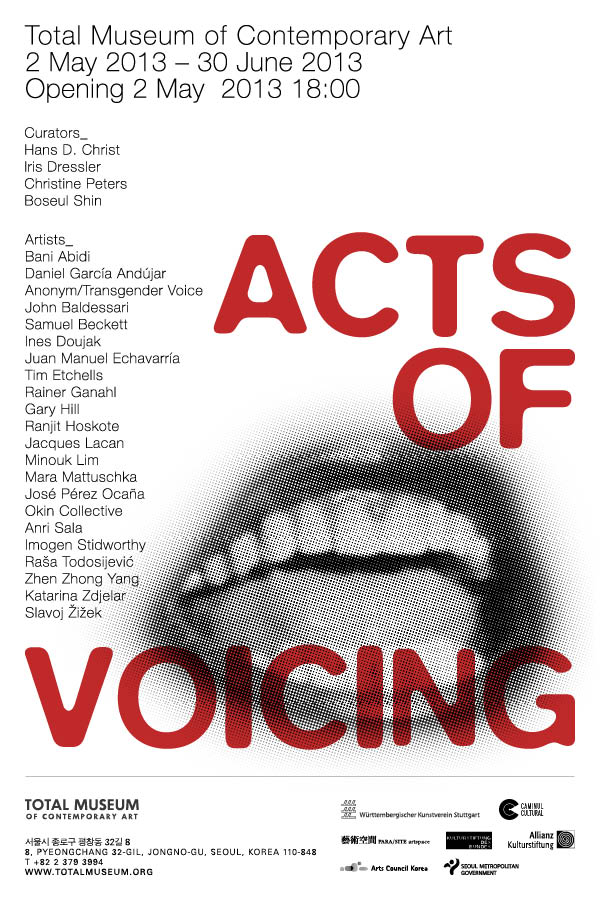 Acts of Voicing Total_museum